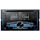 Автопроигрыватель CD/MP3 2DIN JVC KW-R520